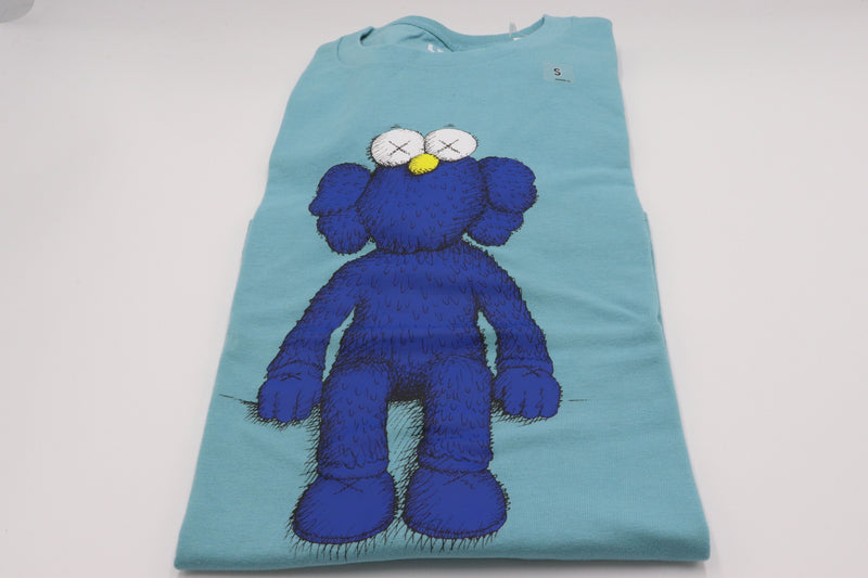 KAWS x Uniqlo Blue BFF Tee Green