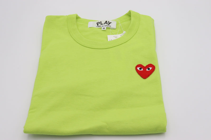 CDG Play Tee Small Heart Verde