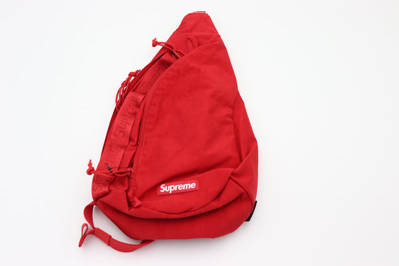 Supreme Sling Bag Dark Red