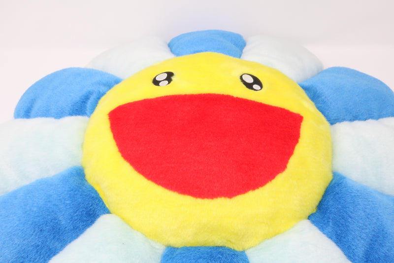Takashi Murakami Flower Plush 60CM Blue/Light Blue/Yellow