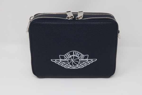 Dior x Jordan Wings Messenger Bag Navy
