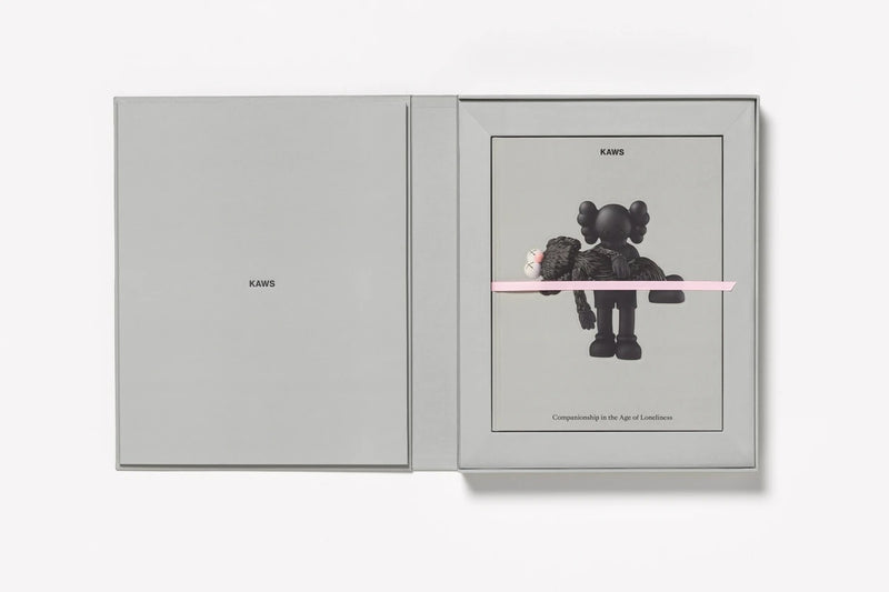 KAWS Limited Edition Art Book With Screenprint