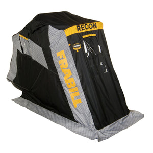 Frabill Recon 100 Flip-Over Shelter with Pad Trunk Seat