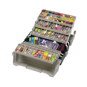 Plano 6 Tray Tackle Box 76 Comp Green/BGE 9606-02