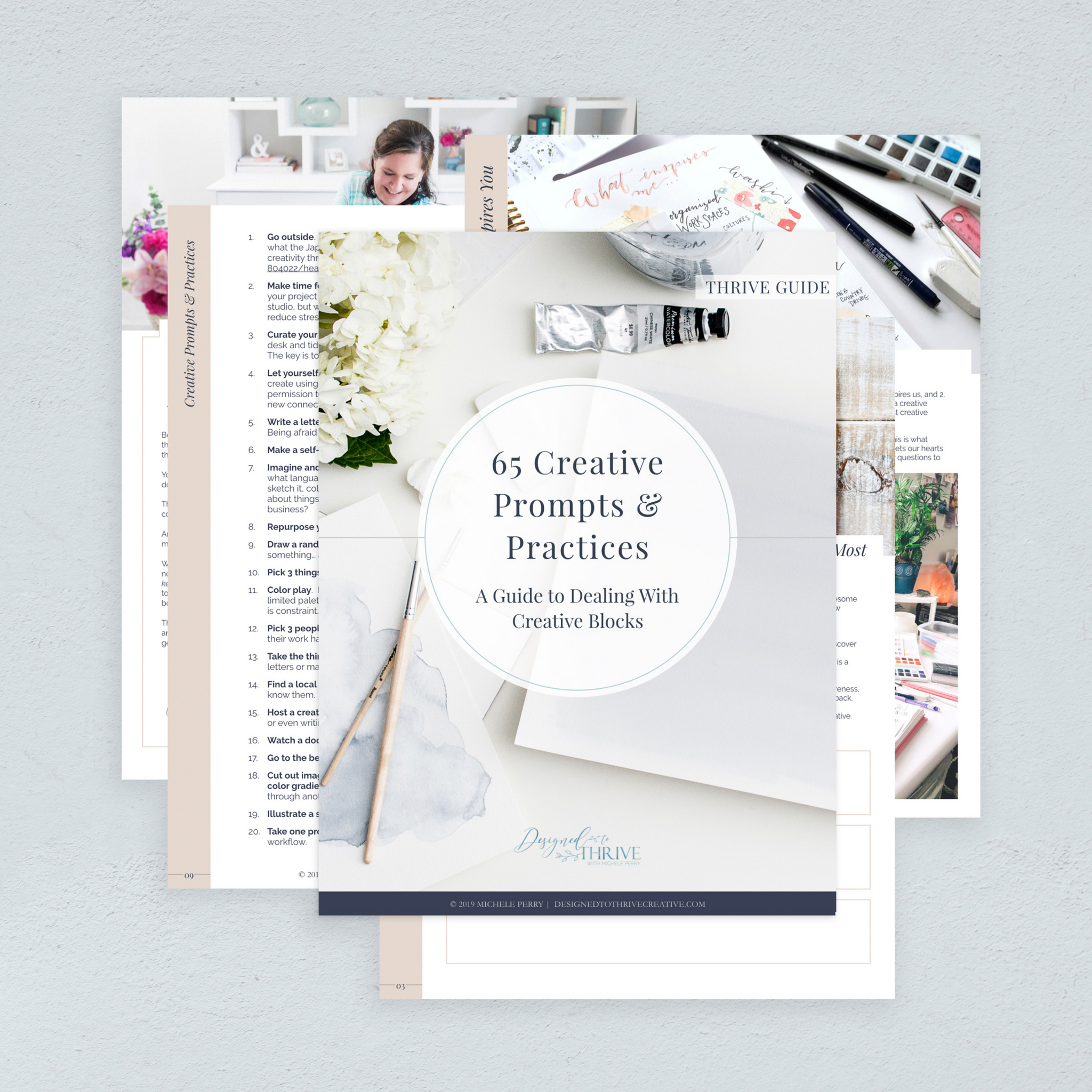 65 CREATIVE PROMPTS & PRACTICES