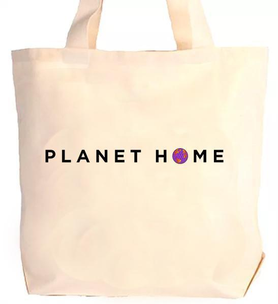 Tote bag - Kaki - 'Planet Home Design'