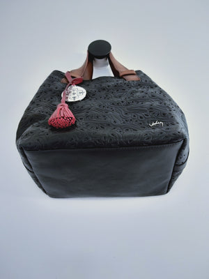 Leather Shoulder bag (Shopping Morona)