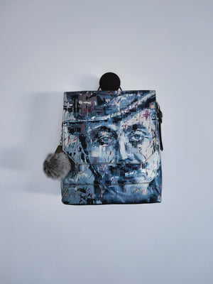 Leather Backpack Mr Verdi ( Limited Edition )-BACKPACKS-Colombian Label Co.