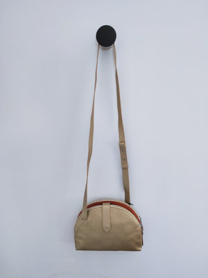 Cross Body / Double sided handbag ( Gold-Terracotta )-CROSS BODY-Colombian Label Co.