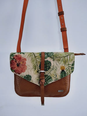 Cross Body Handbag ( Floral )-CROSS BODY-Colombian Label Co.