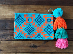 Clutch Bags Small ( Wayuu )-CLUTCH-Colombian Label Co.