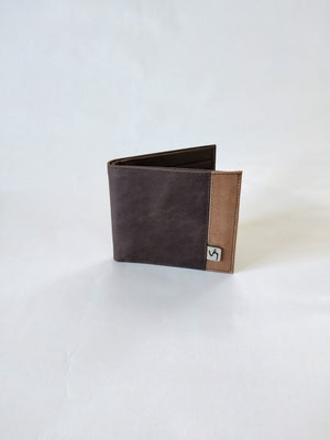 Men Wallet ( Cafe )-Wallets ( M )-Colombian Label Co.