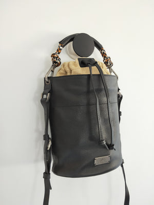 Cross body Jorja ( Black & Jute )-CROSS BODY-Colombian Label Co.