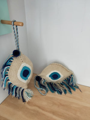 Evil Eye Clutch Bags-CLUTCH-Colombian Label Co.