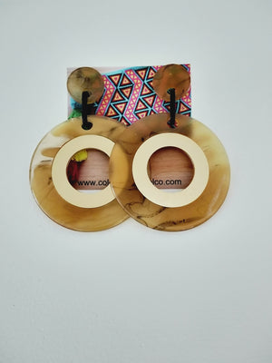 Earrings ( geometricos circulo )-Earrings-Colombian Label Co.