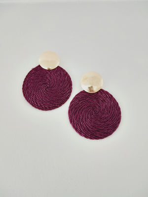 Earrings ( Tejidos )-Earrings-Colombian Label Co.