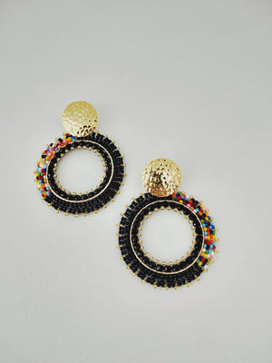 Half Rainbow-Earrings-Colombian Label Co.