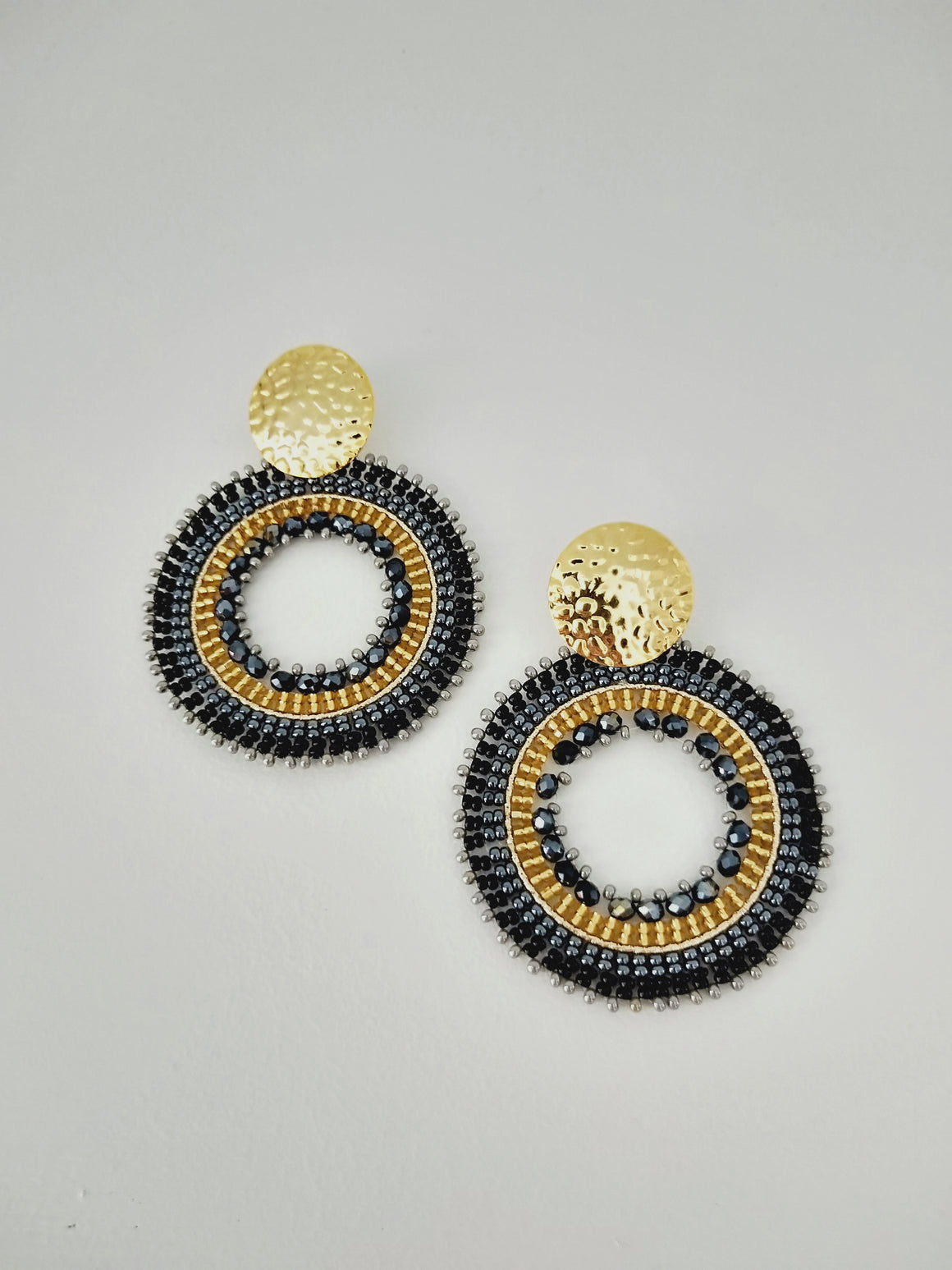 Half Mandala-Earrings-Colombian Label Co.