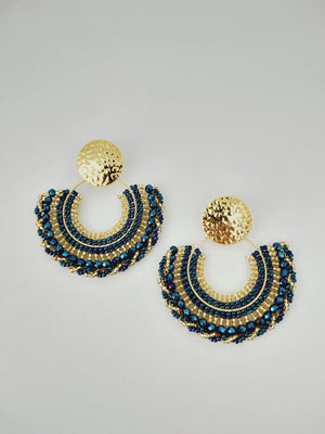 Earrings ( Abanico )-Earrings-Colombian Label Co.
