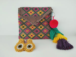 Clutch and earrings-under $100-Colombian Label Co.