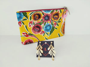 Frida Clutches and earrings-under $50-Colombian Label Co.