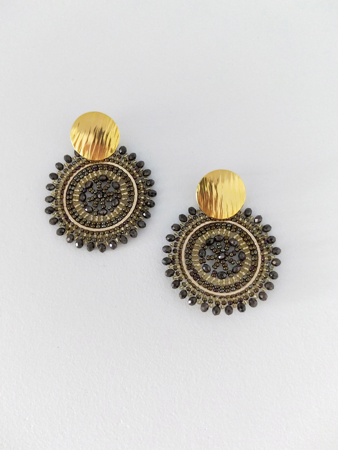 Mandala XL-Earrings-Colombian Label Co.