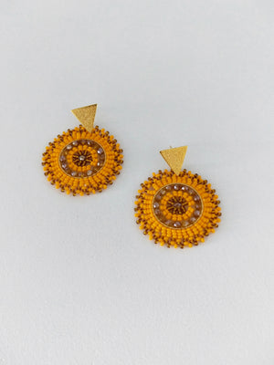 Mini Mandala-Earrings-Colombian Label Co.
