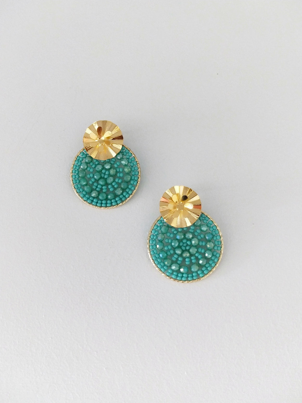 Mandala Petite-Earrings-Colombian Label Co.