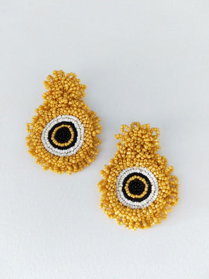 Beads Ojo-Earrings-Colombian Label Co.