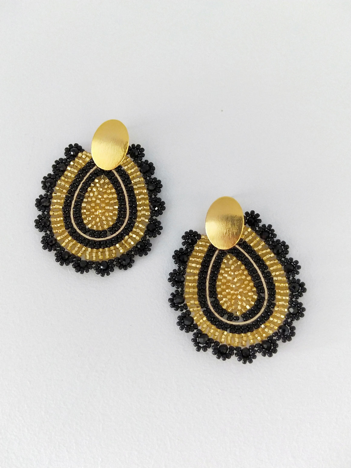 Gota Llena-Earrings-Colombian Label Co.