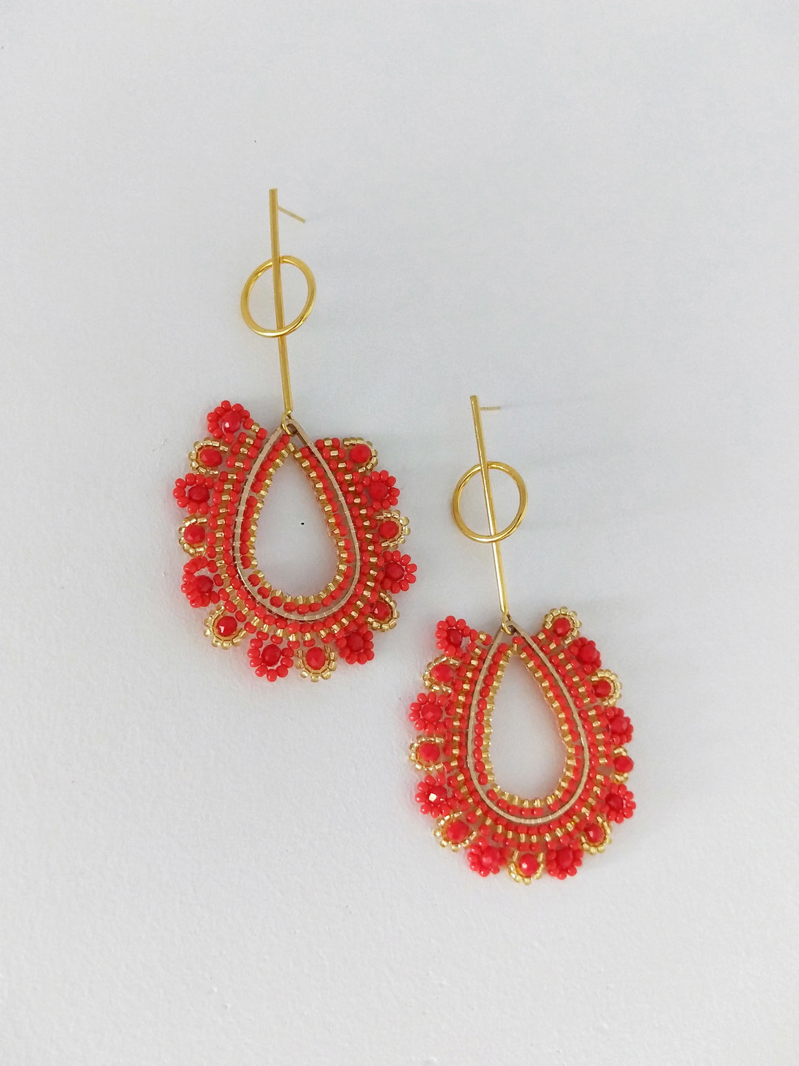 Gota Stem-Earrings-Colombian Label Co.