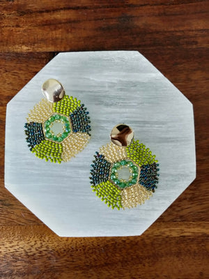 Rombo-Earrings-Colombian Label Co.