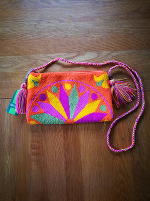 Boho Style Mochila Cross Body-CLUTCH-Colombian Label Co.