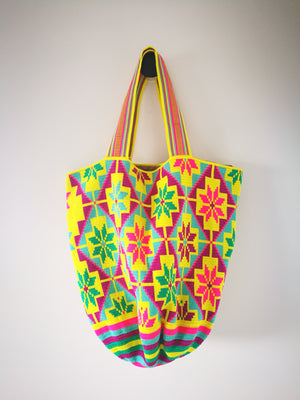 Boho style Mochila Playa-Beach Bags-Colombian Label Co.