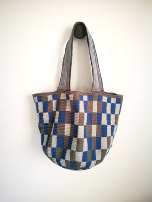 Boho Style Mochila Chess ( BEACH BAG )-Beach Bags-Colombian Label Co.