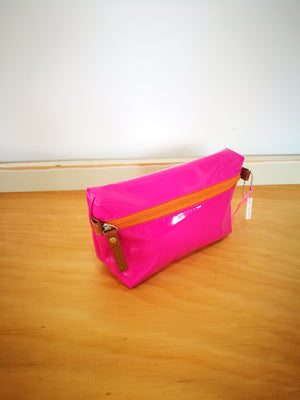 Vinyl Makeup Bag ( BILI )-TOILETRY BAG-Colombian Label Co.