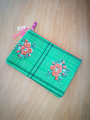 Frida Clutch-TRAVEL BAG-Colombian Label Co.