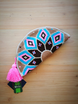 Half Moon Clutch-CLUTCH-Colombian Label Co.