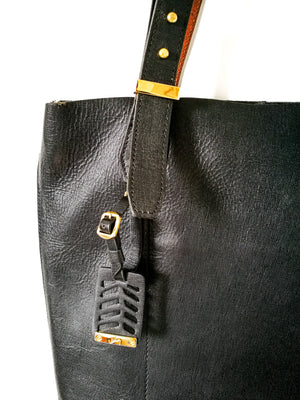 Shoulder Handbag (BLACK)-Handbags-Colombian Label Co.