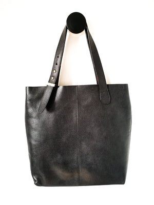 LEATHER TALEGO ELEMENTAL (BLACK)