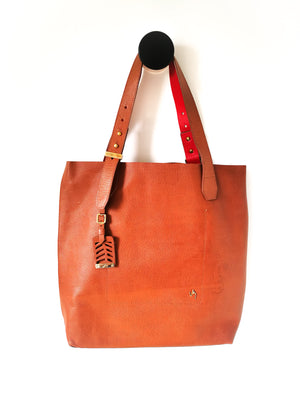 Leather Talego Elemental (BROWN)-Handbags-Colombian Label Co.