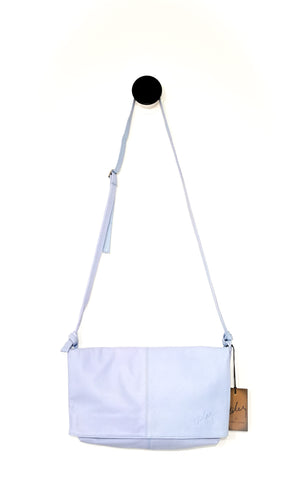 CROSS-BODY BANDOLERA ( BABY BLUE )