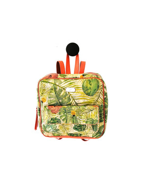 Floral Backpack-BACKPACKS-Colombian Label Co.
