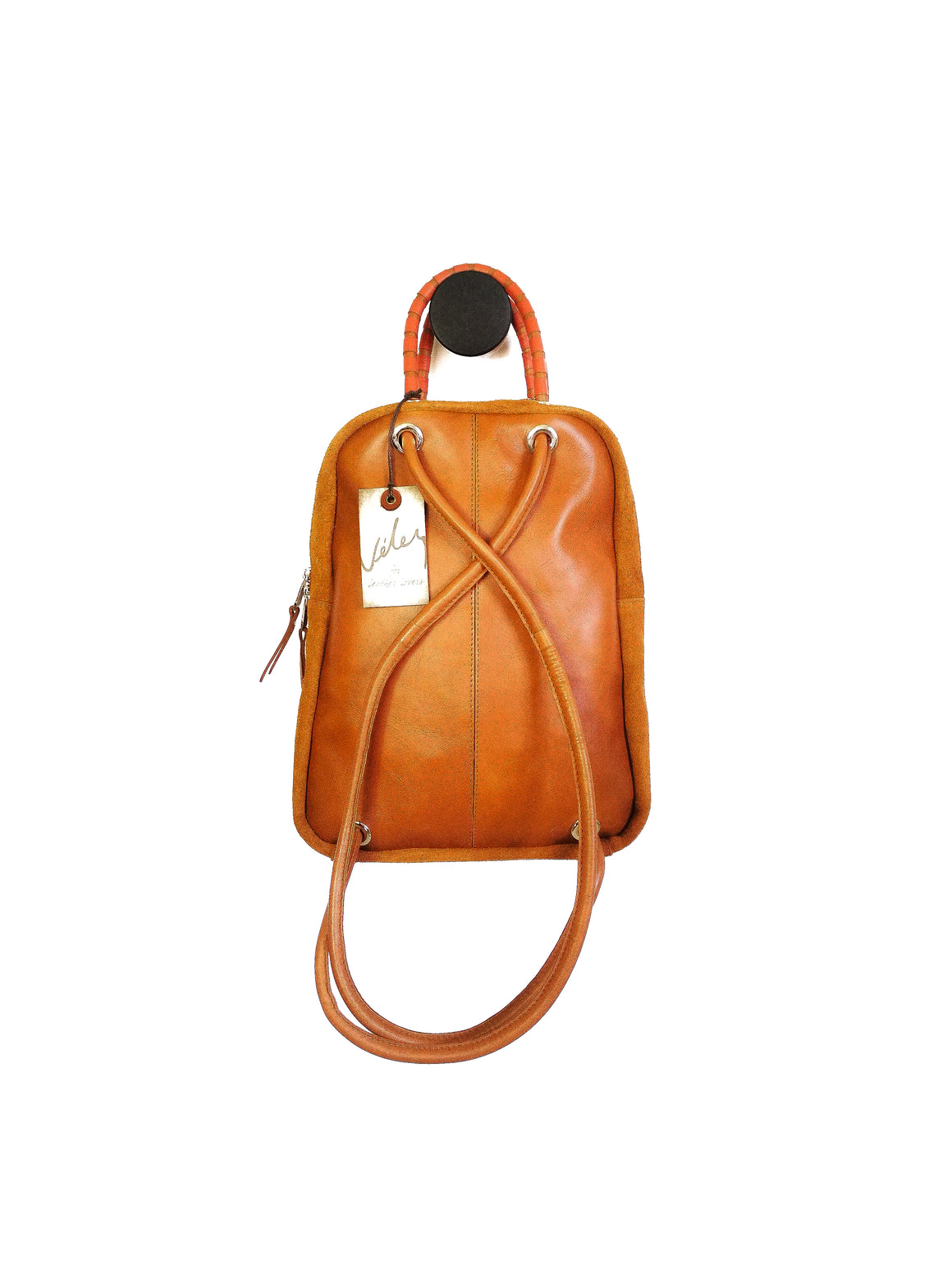 Suede Backpack ( EL ORIGEN )-BACKPACKS-Colombian Label Co.