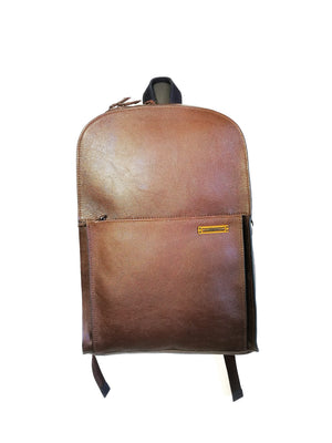 Men Leather Backpack ( 15 REINVENCION )-BAGS-Colombian Label Co.