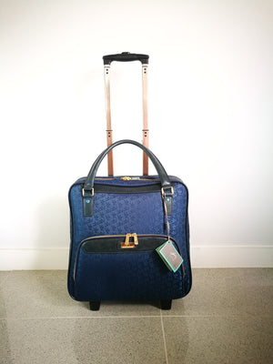 Maleta (AZUL)-DAY TRIP AND CARRY-ON-Colombian Label Co.