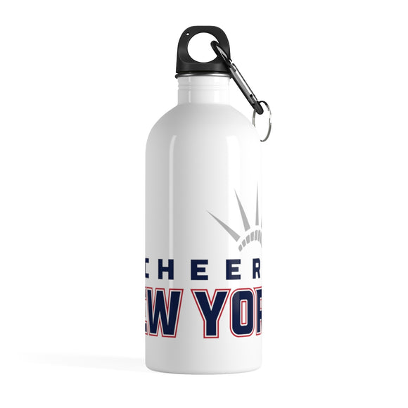 Cheer New York Stainless Steel Water Bottle