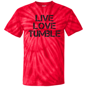 Live Love Tumble Youth Tie Dye T-Shirt