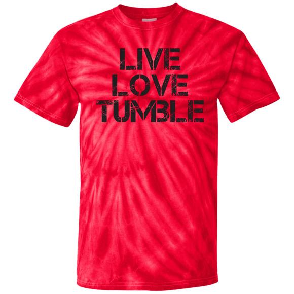 Live Love Tumble Tie Dye T-Shirt