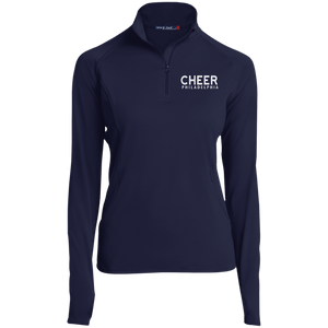Cheer Philadelphia Women's 1/2 Zip Performance Pullover